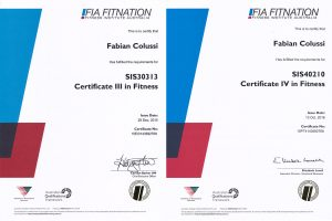 Certificates III & IV in Fitness