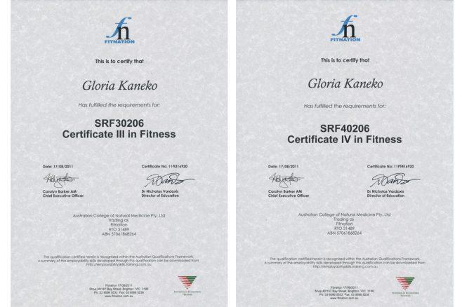 Certificate III & IV in Fitness