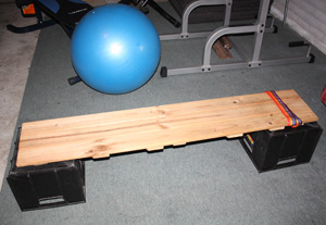 Home Made Weight Bench