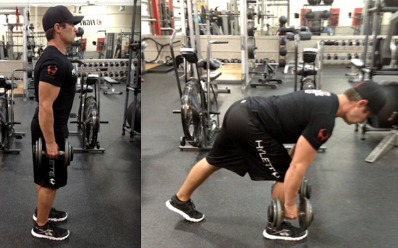 Anterior Leaning Lunge