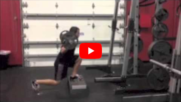 Reverse Lunge From Deficit