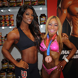 Arnold Classic 2016 - Candice Lewis-Carter